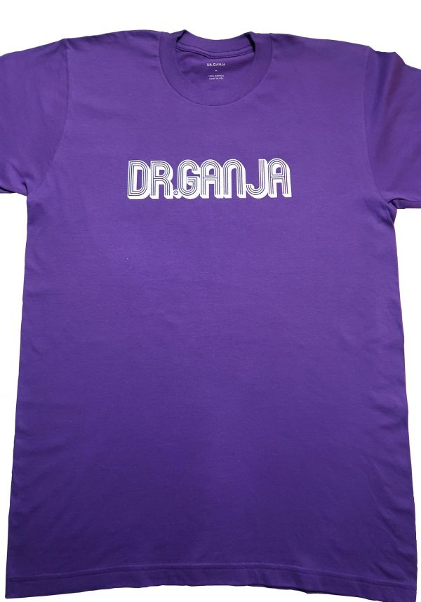 Dr.Ganja T-Shirt Purple