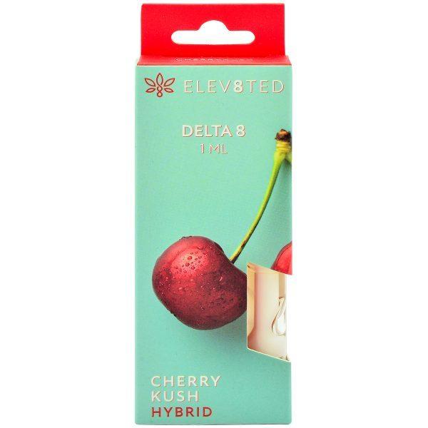 Elev8ted Delta 8 Vape Cartridge Cherry Kush 1ml
