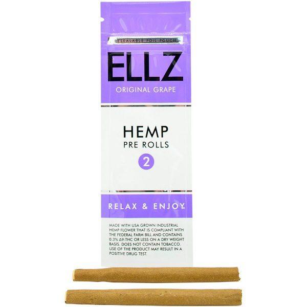 grape cbd hemp blunts original ellz